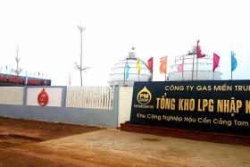 Tổng kho PM-Gas Miền Trung tại Chu Lai - Quảng Nam