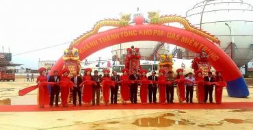 Petro Miền Trung khánh thành Tổng Kho - Cầu cảng và Nhà máy chiết nạp tại Khu Kinh tế mở Chu Lai