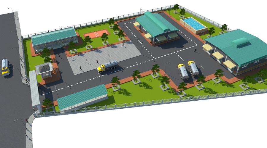 Dự án đầu tư xây dựng nhà máy tồn trữ & chiết nạp khí dầu mỏ hóa lỏng LPG (Gas)