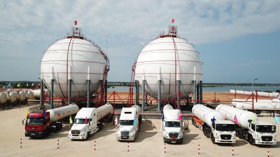 Tổng kho PM-Gas Miền Trung tại Chu Lai